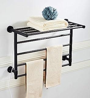 Martll Calentador de toallas con estante de radiador de toallas, calentador de toallas con radiador de baño, toallero 610 mm * 390 mm