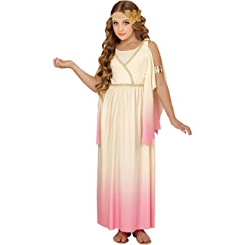 WIDMANN WDM67667 ? Disfraz para niños Diosa griega (140 cm/8 ? 10 ...