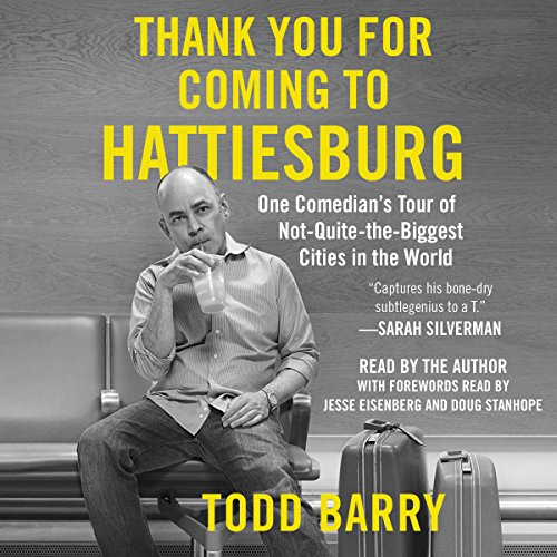 Thank You for Coming to Hattiesburg audiobook cover art