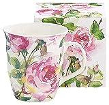 Burton & Burton 9726810 Porcelain Mug Pink Roses,