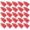 LEDMOMO 50pcs Christmas Candy Bags Xmas Drawstring Candy Pouch Holiday Treat Cookie Bags for Christmas Party Favor Wrapping Supplies Style 4