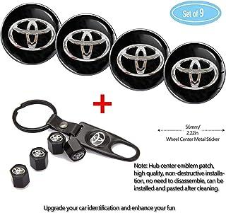 Fubai Auto Parts 4 Pack for Toyota Wheel Center Caps...