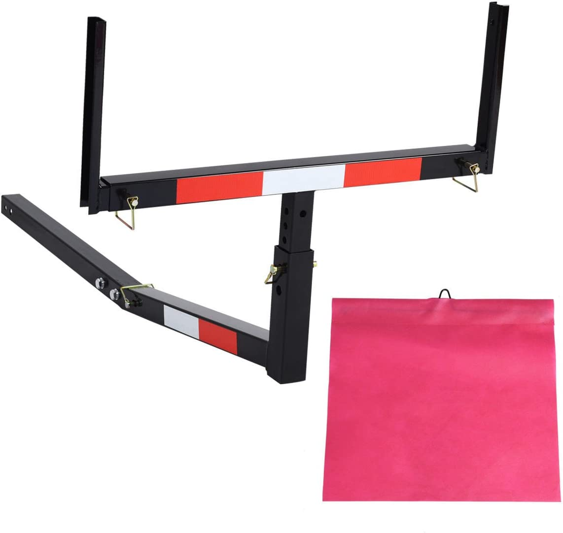 Goplus Pick up Large-scale sale Truck Bed Adjustable Ranking TOP15 Hitch Rac Extender Extension