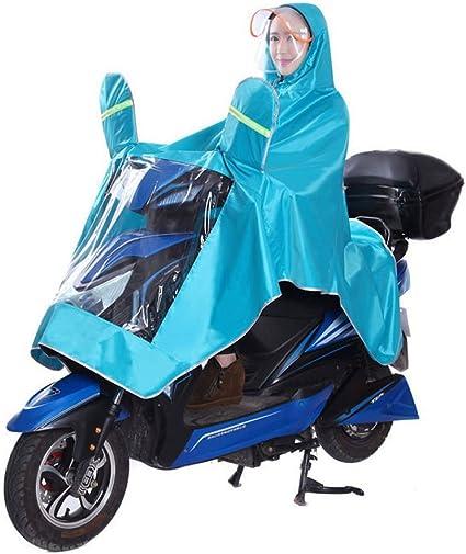 IBLUELOVER Outdoors Bike//Ebike//Motorcycle//Scooter Rain Jacket Poncho Hoodie Raincoat Cape