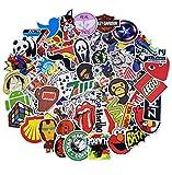 Adesivi in Vinile, 100 Pezzi Kit Adesivi Impermeabili per Bambini Adolescenti, Adulti, Casco, Laptop, Auto, Moto, Biciclette, Skateboard, Valigia