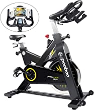 pooboo Indoor Cycling Bike Exercise Bike Stationary with 44lbs Flywheel- Commercial Standard for Home Cardio Workout