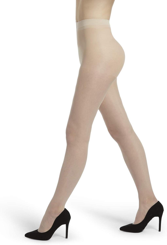 No Nonsense womens Great Shapes High Waist Shaping Sheer Pantyhose