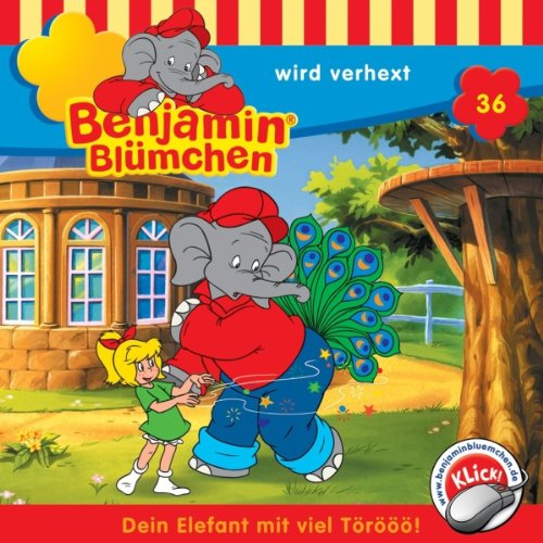 Benjamin wird verhext (Benjamin Blümchen 36) Titelbild