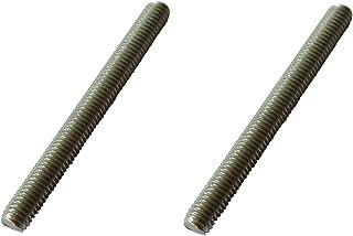 2 x M8 x 50 mm Varilla roscada V4A – Tornillo de rosca exterior de acero inoxidable – Calidad industrial de acero inoxidable