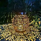 Solar Laterne für Draußen - Wasserdichte Solar Laterne Aussen,LED Garten Solar Laterne für außen...