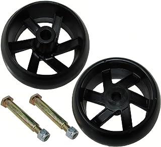 2PK Husqvarna Deck Wheel Kit Compatible With 532174873, 174873, 133957, 193406 ;(from_gsohardware