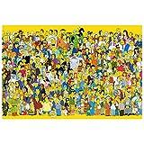 VAST El Anime Jigsaw Puzzle Simpsons Dibujos Animados, Inteligencia, Puzzles, Fit 300 ~ 1500 Regalos de cumpleaños de los niños Piezas para 514 ( Color : A , Size : 300pc )