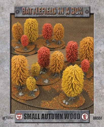Flames of War Battlefield in a Box: Large Autumn...