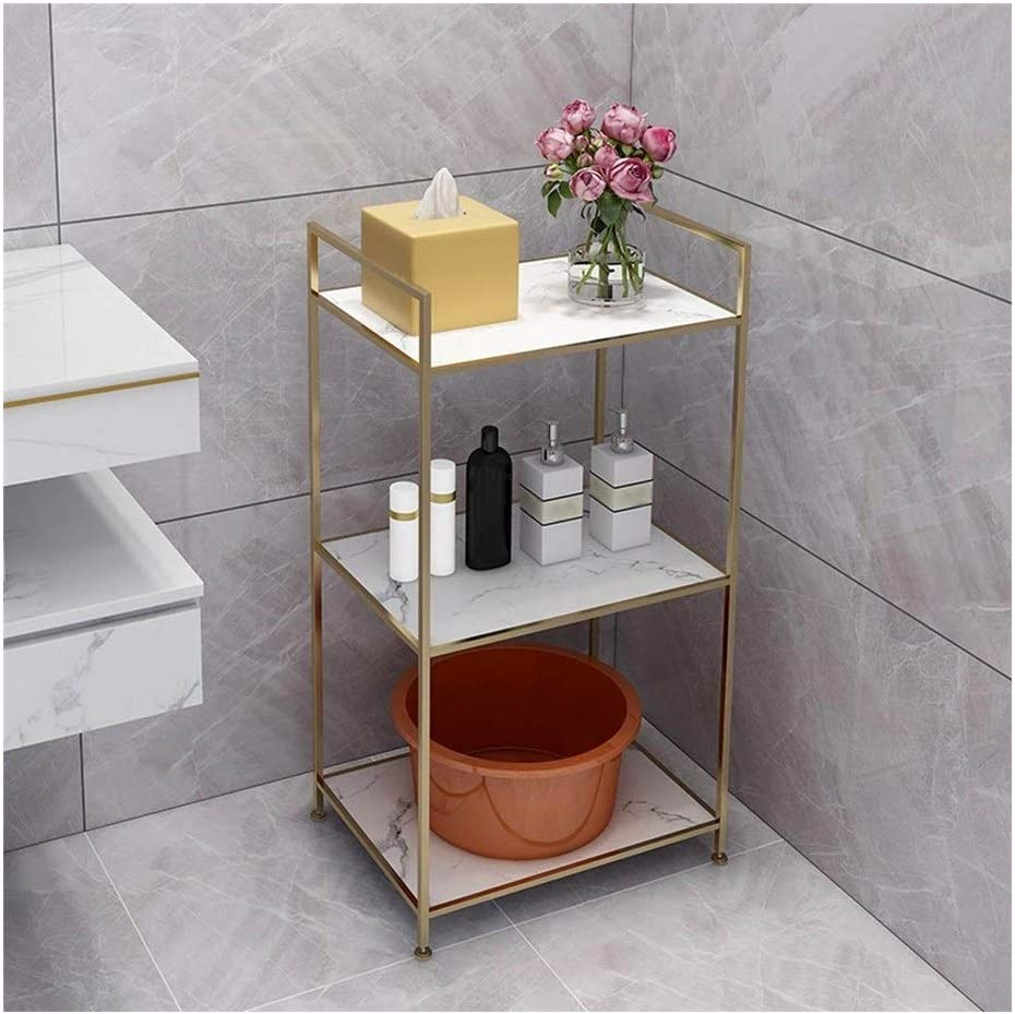 HuangYC Corner Shelves Three-Layer Storage Free Popularity shipping on posting reviews Flower Sta Small Rack