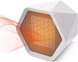 Calefactor Eléctrico Calefactor Cerámico Portátil, Comodidad Mate Mini Calefactor Cerámico Oficina Calentador, Fiebre Rapida Electrico Calefactor De Aire para Hogar