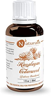 Naturalis Essence of Nature Himalayan Cedarwood Essential Oil for Skin, Hair and Aromatherapy - 30ml
