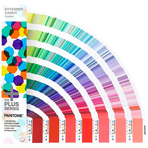 Pantone GG7000 Plus Extended Gamut Guide, Multicolor