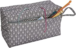 Knitting Accessories Knitting Bag Sturdy Portable Premium Yarn Organizer Holde Storage Tote Crocheting Supplies