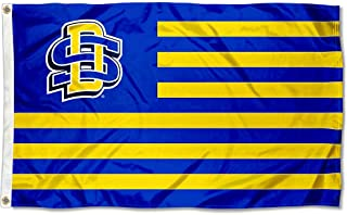 South Dakota State Jackrabbits Stars and Stripes Nation Flag