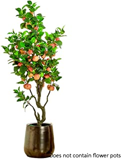 Realistic Artificial Tree Simulation Apple Tree Bonsai Mall Living Room Large Decorative Ornaments Artificial Fruit Trees ...
