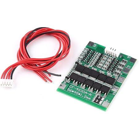 Akozon Batterie Bms Board Module 4 S 100a 12 V Lifepo4 Lithium Eisen Phosphat Lfp Batterie Schutz Bord Mit Balance Gewerbe Industrie Wissenschaft
