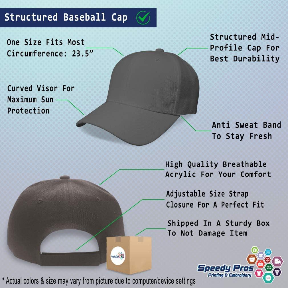 Baseball Cap Field Artillery Officer Alien B Embroidery Dad Hats for Men /& Women