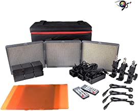Aputure Amaran 2 H672S + 1 H672C Panel Video Light CRI 95+ LED Studio Video Light Color Temperature Adjustable with Battery 2.4G Wireless Remote