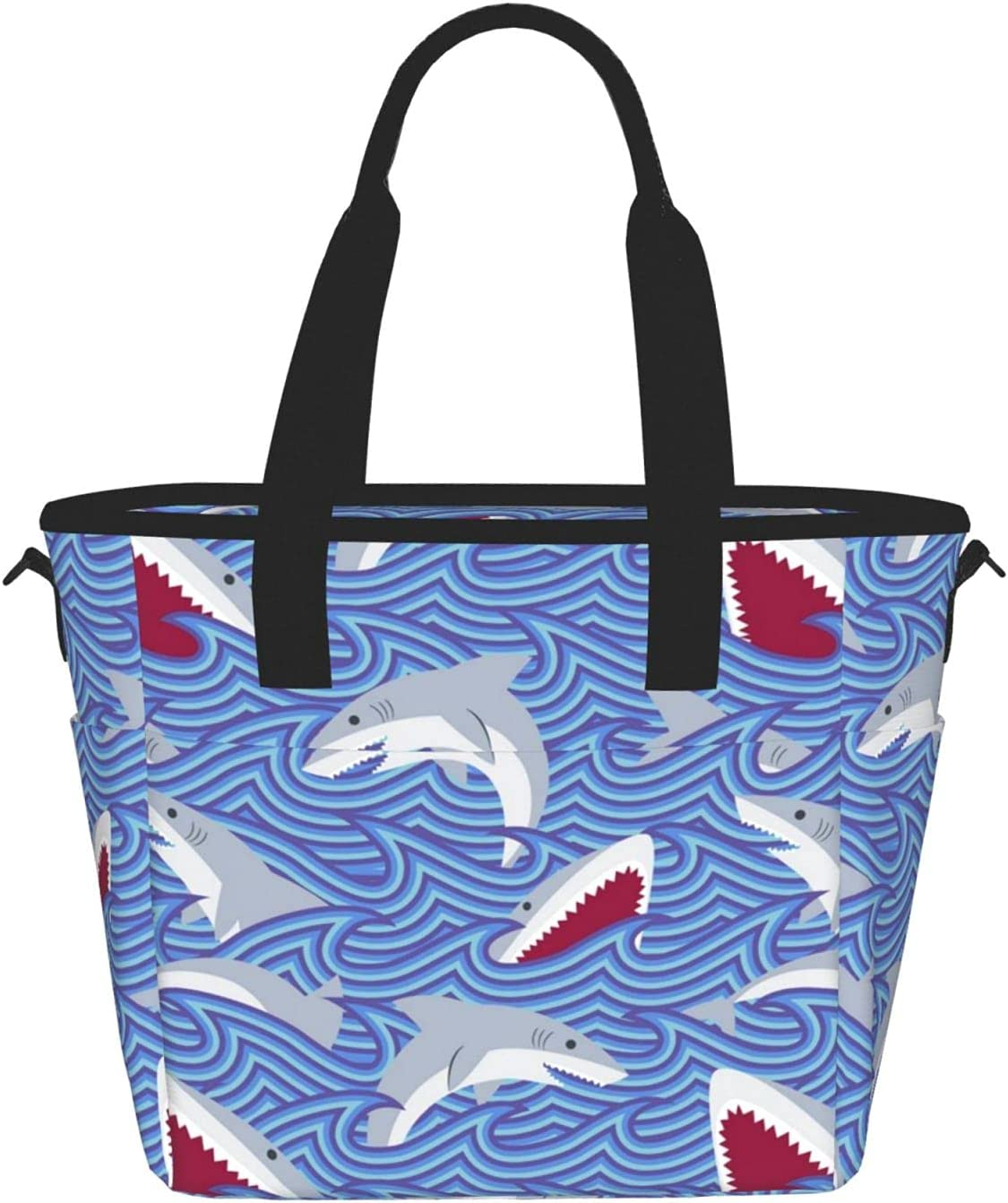 Challenge the lowest price Foraging Fishprinting Women'S Lunch Bag Ba Portable Max 84% OFF Fashion Meal