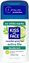 Kiss My Face Active Life Deodorant, Cucumber Green Tea 2.48 oz