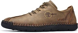 N-B Zapatos de Trabajo de Cuero Informales de Negocios para Hombres Zapatos de Cuero de Suela Suave para Hombres Zapatos F...