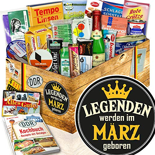 Legenden März / März Geschenkset / Geschenkset DDR Spezialitäten
