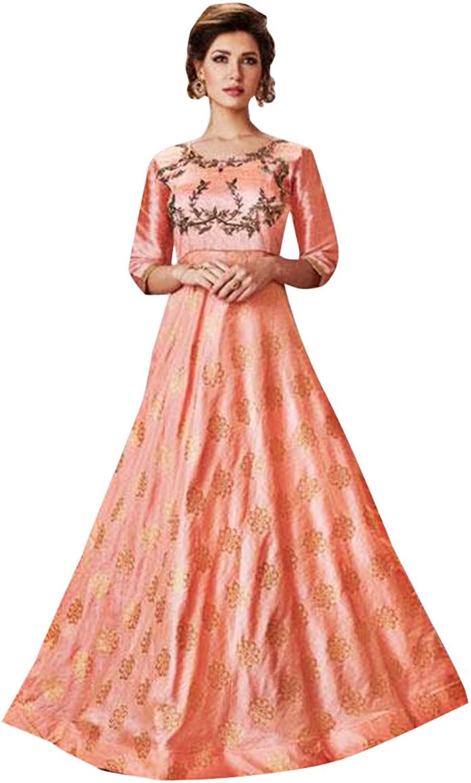 Punjabi Bollywood Anarkali Dresses for women Salwar Kameez Ceremony Wedding 909 3