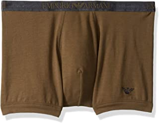 Emporio Armani Mens Shiny Logoband Boxer Brief Boxer Briefs