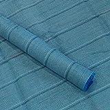 GXK Hell-Blau Zeltteppich 300x700 Vorzeltteppich Campingteppich Zeltboden Vorzelt