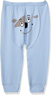Papillon Printed Elastic Waist Underwear Pants for Boys - Light Blue, 9-12 Months