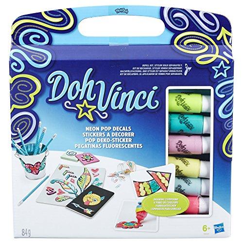 Hasbro DohVinci B8954EU4 - Pop Deko-Sticker Set, Bastelspielzeug