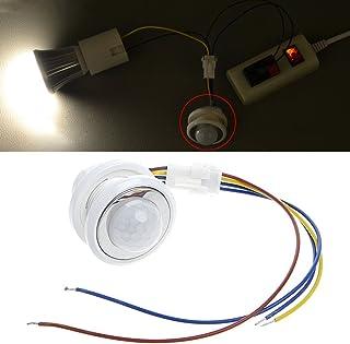 Cuigu Detector de Movimiento Infrarrojos Detector de Detector de 40 mm LED PIR con el Suspensión
