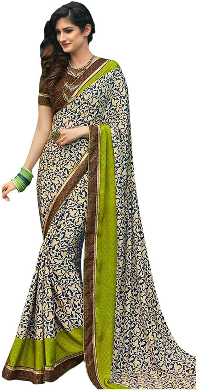 Bollywood Bridal Saree Sari for Women Collection Blouse Wedding Party Wear Ceremony 827 3