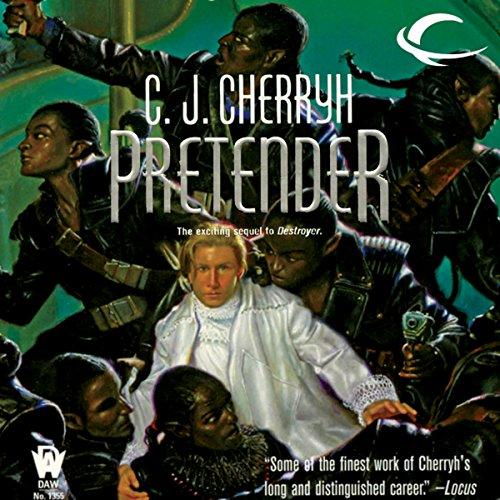 Pretender audiobook cover art