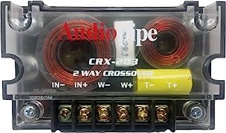 Audiopipe 2 Way Crossover CRX-203 400 Watts Passive Crossover Car Audio Tweeter