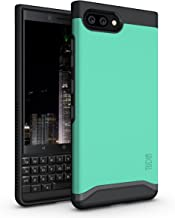 BlackBerry KEY2 Case, TUDIA [Merge Series] V2 Heavy Duty Extreme Protection/Rugged with Dual Layer Slim Precise Cutouts Case for BlackBerry KEY2 [NOT Compatible with KEY2 LE] (Mint)