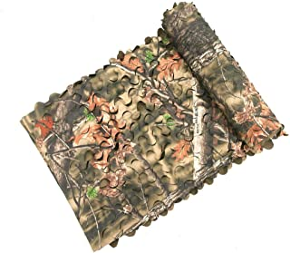 Auscamotek 300D Camo Netting Camouflage Net Blinds Material for Hunting Accessories Brown 5x10 Feet