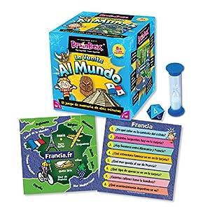 Incluye 71 tarjetas, temporizador, dado de 8 lados y reglas de la tarjeta Material reciclado mínimo del 70% Diseñado en High Wycombe, Reino Unido Adecuado para niños no menores de 8 años