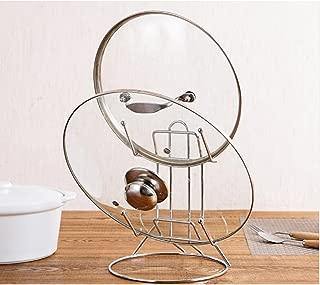 ATK Stainless Steel Pot Lid Rack, Lid Holder, Lid Rack For Pots And Pans, Lid Holder While Cooking, Silver Color