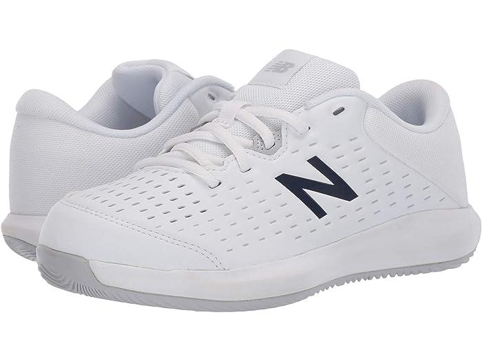 new balance kids white