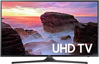 Samsung Electronics UN43MU6290 43-Inch 4K Ultra HD Smart LED TV (2017 Model) (Renewed)