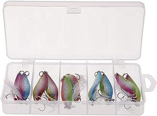 B Blesiya 3pcs Se/ñuelo Spro Prime Bucktail Aplicable A Varios Peces Buen Ayudante Pesca Cebo Carpa Pescados