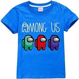 Thombase Kids Funny Among Us Merch Fun Teen Tops Comfortable Classic Boy Girl T-Shirts