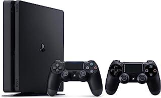 جهاز تشغيل العاب الفيديو الرقمية PlayStation 4 من سوني لون اسود 500 جيجا مع وحدة تحكم اضافية اصدار عالمي