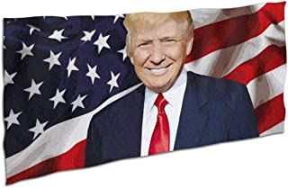 Deaowangluo Trump Beach Towel Blanket Yoga Towel Ultra Soft Water Absorbent Quick Dry Throw Towel 37x74 Inches
